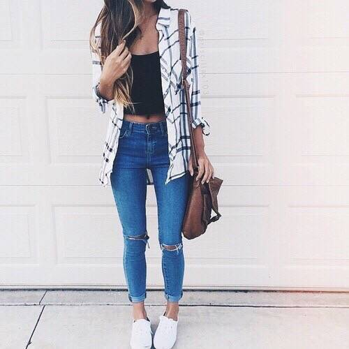 girl, fashion and style image on We Heart It (25799)
