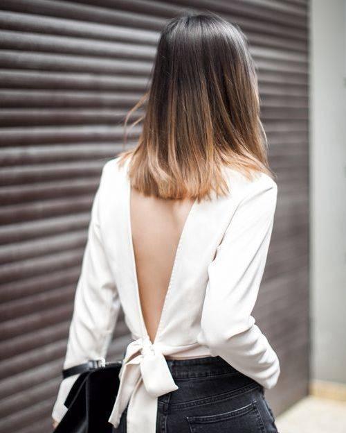 Straight medium length hairstyle 2016 - 2017 | Hairstyle Trends | Pinterest | ヘアスタイル、ミディアム、ミディアムの長さ (26067)
