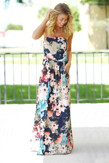 ~~~beautiful navy floral maxi dress!  Click the picture to get started with stitch fix!  The best styling service--get this look in your april stit… | Pinteres… (28871)