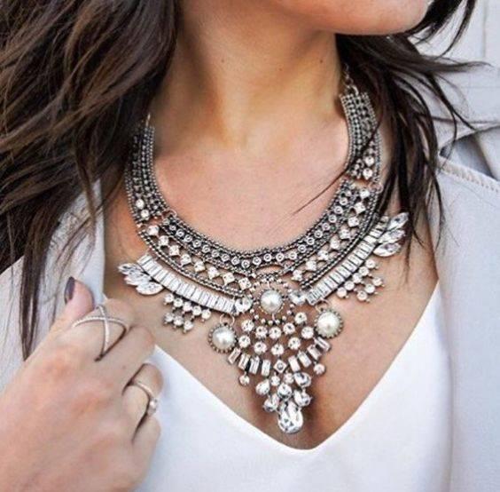 Zara Statement Necklace | ビジュー、ザラファッション、デザイン (29300)
