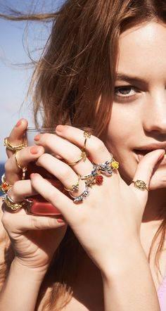 Stackable Rings | Jewels | Pinterest | かわいい夏服コーデのアイデア、綺麗な手のためのケア、指輪 (29302)