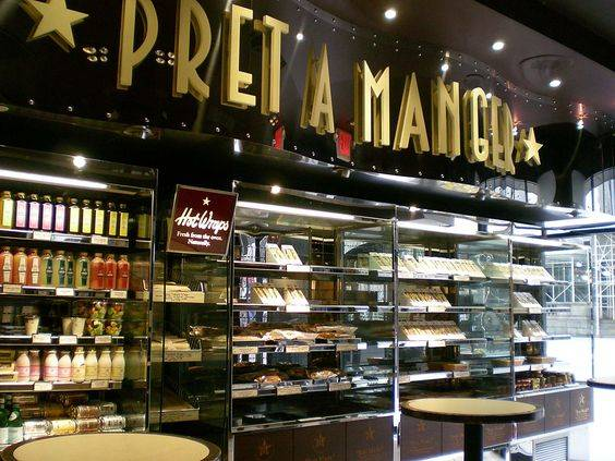 Case Study: Pret A Manger | Americold Commercial Refrigeration Consultants | Cafe Style | Pinterest | 友達、マンハッタン、勉強 (33184)