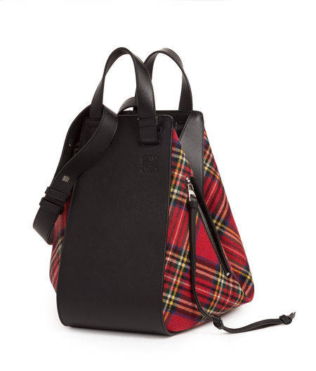 Hammock Tartan Bag Black/Re...