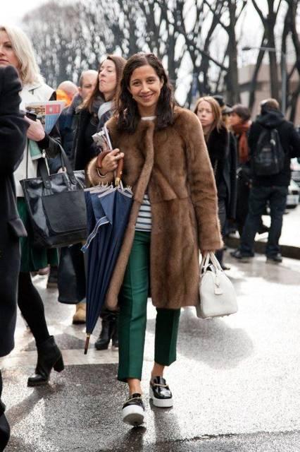 Photos: Photos: Best-Dressed Street Style at Milan Fashion Week Fall 2013 | ファッションコーデのアイデア、ファッションコーデ、草 (40921)