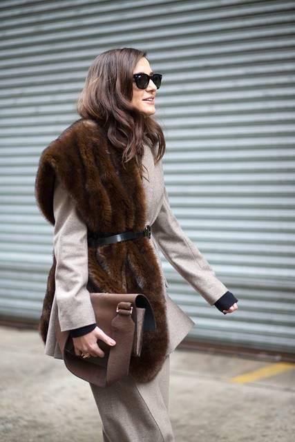 Shop the NYFW Trend: Fur Accents   草 と ファッションアイデア (40923)