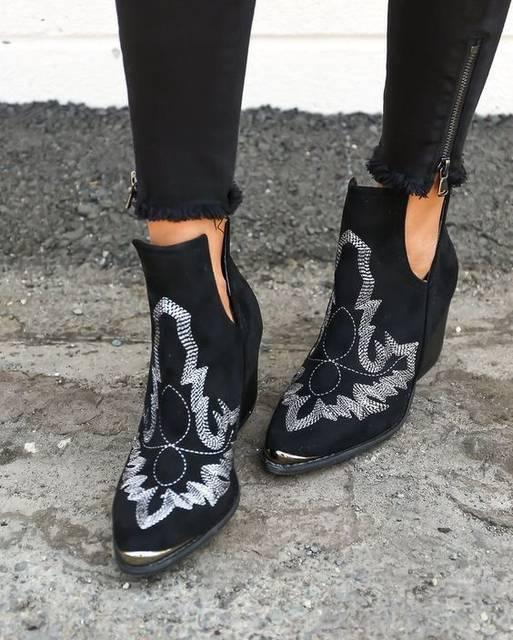 cute western boho booties | S T Y L E | Pinterest (41366)