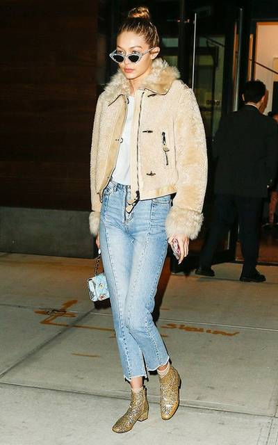 Gigi Hadid Brought 2014's It Ankle Boots Back From the Dead (41413)