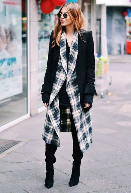 The 15 Best Outfits We've Seen in a LONG Time | スタイリスト、チェック、秋 (41427)
