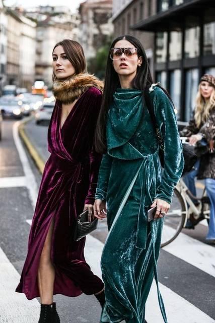 Street looks à la fashion week automne-hiver 2016-2017 de Milan | カラー (41442)