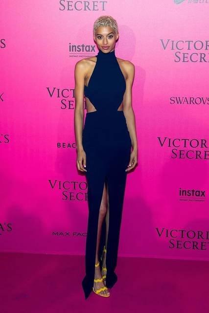 Jourdana Phillips at the Victoria's Secret Fashion Show after party. Photo: Michael Stewart/FilmMagic/Getty Images. | La Mode - Playing Dress Up | Pinterest (42196)