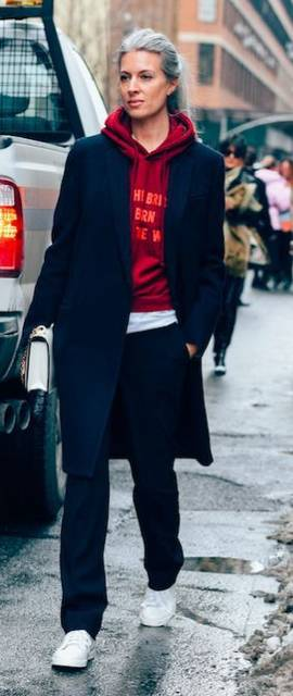 Street Style : Sarah Harris British Vogue Street Style NYFW New York Fashion Week Vetement   Fashion   Pinterest   カジュアル と 服 (42237)