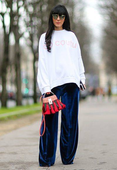 Proof wide-leg trousers are so in right now | ファッションアイデア、アイデア、ファッション (42241)