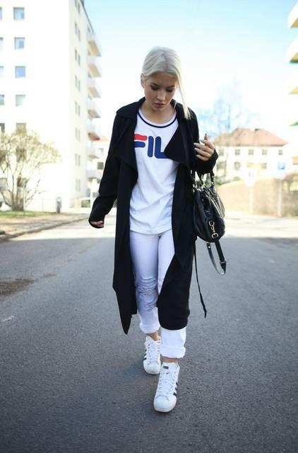 Blogger Heidichic in the JUNKYARD XX-XY // FILA collab. | Fashion | Pinterest (42836)