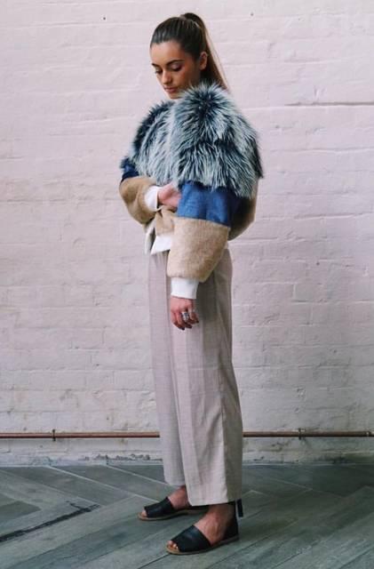 @thedesignstudiohawarden TDS Bomber Jacket   Leather   Pinterest   ファー、草、ファッションアイデア (44772)