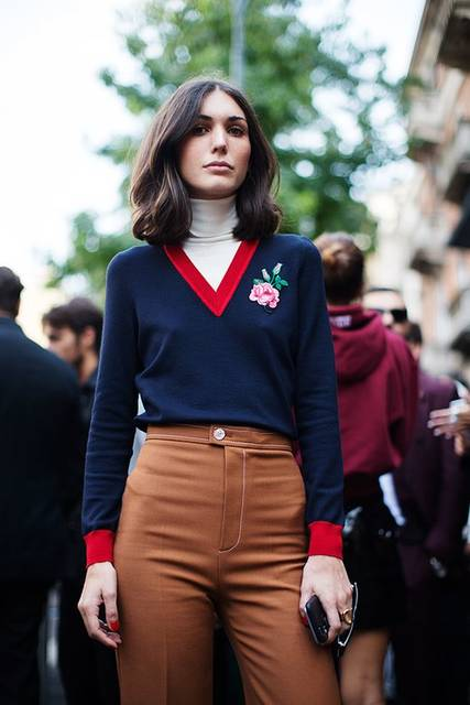 On the Street…At the Shows, Milan (The Sartorialist) | ヘアカラー、アートフォト、服装 (45359)