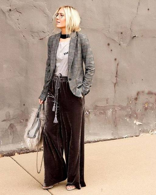 If there's one piece we can't get enough of this season, it's wide-leg velvet pants like . Enter for a chance to win this pair from our Who What We…   Pinterest (46130)