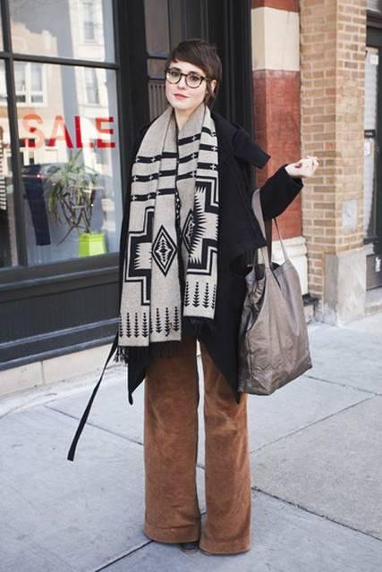Chicago Street Style Pictures Winter 2013   ファッション写真、めがね、古着 (46136)