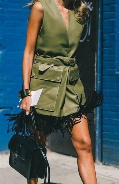 The Best Street Style From New York Fashion Week | ファッションアイデア、モデル、アイデア (46246)