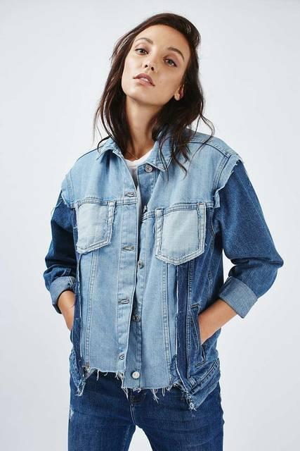 как сшить и переделать джинсовку | Denim | Pinterest | 牛、おしゃれ、服 (46873)