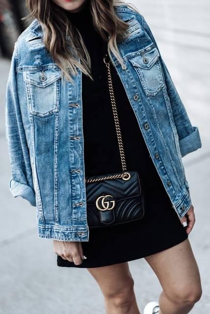 oversized denim jacket 2017 fashion trends to love | レディース ファッション と ファッション (46882)