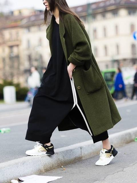 awesome topper. #ElisabettaDiMaso in Milan. | Street Style | Pinterest | アスレジャー、レディース ファッション、普段着 (47321)