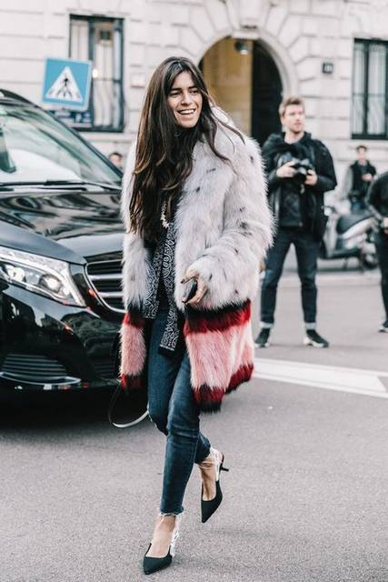 Street Style #MFW / D鱈a 1 (47333)
