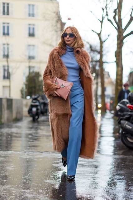 De beste streetstyle looks van Parijs Fashion Week - harpersbazaar.nl | Fur | Pinterest | レディース ファッション と ファッション (47336)