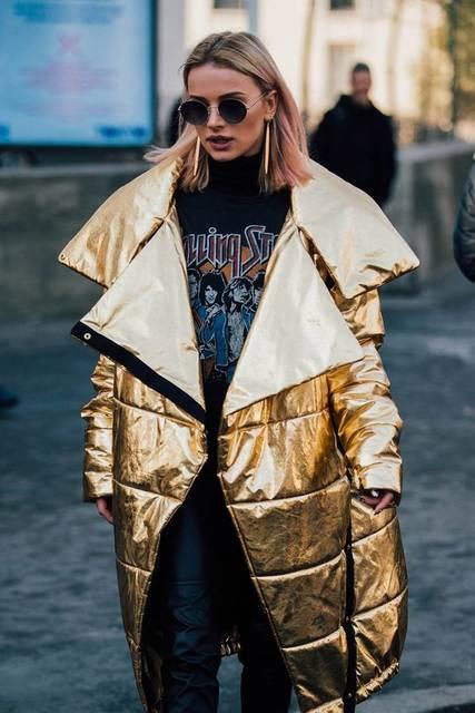 Paris Fashion Week Men's Street Style | おてんば、シルバー、ゴールド (47991)