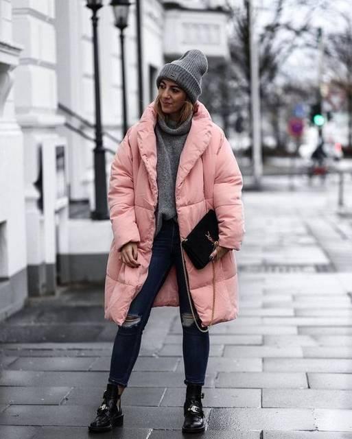 winter street style | Puffer Jacket&Bomber Jacket | Pinterest | コート (47998)
