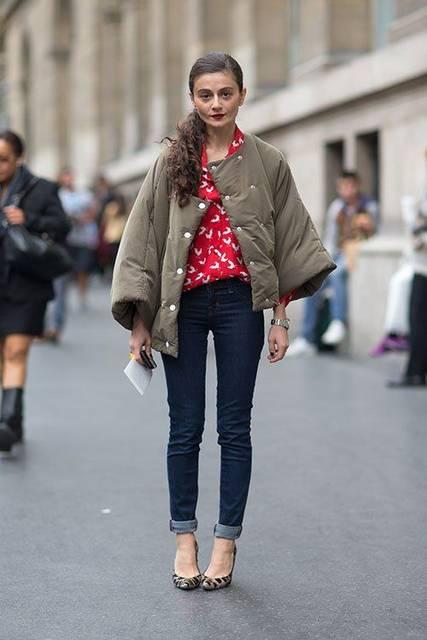 Image Via: Style Snooper Dan | Puffer Jacket&Bomber Jacket | Pinterest | ファッションアイデア、コート、冬 (48000)