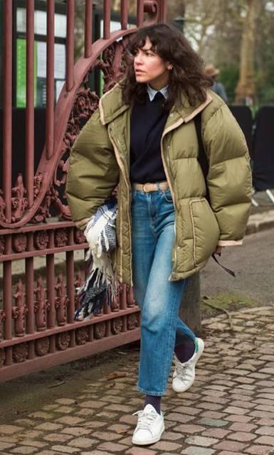 LA COOL & CHIC : Photo | Puffer Jacket&Bomber Jacket | Pinterest | どういたしまして、服装、秋冬 (48007)