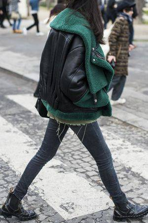 Street Style – Daily street style inspiration | Leather | Pinterest | 青緑、スタイル、ファッション (48194)