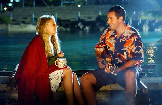 Drew Barrymore and Adam Sandler ~ As Lucy Whitmore and Henry Roth in 50 First Dates (2004) ~ 59 Great Movie Couples | Love That Movie | Pinterest | 映画 と 好き (48682)