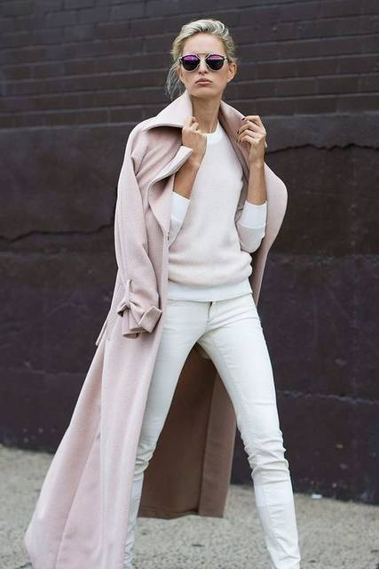 street style, winter white GOLD COAST GIRL - a chicago-based fashion + lifestyle guide | All White Outfits | Pinterest | Gold coast, White gold and Street styl… (49929)