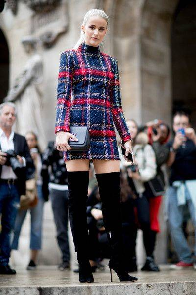 Paris Fashion Week Spring 2018 Attendees Pictures | Fashion weeks, Street and Spring (50145)