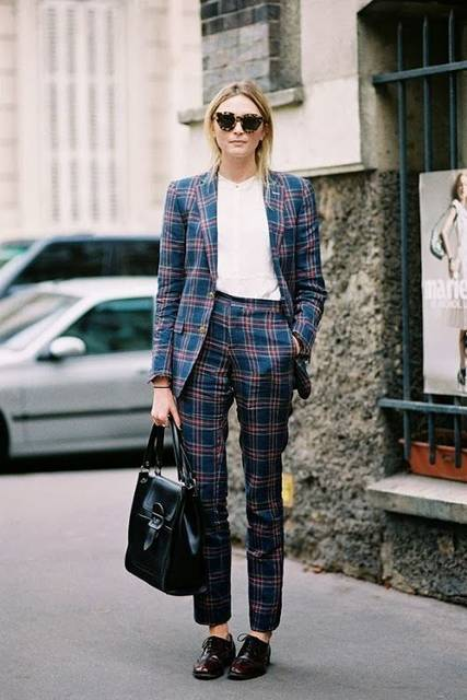You're About To See This Fashion Trend Everywhere | Tartan suit, Tartan and Milan (50155)