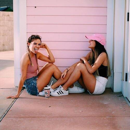 Image about bff in —pink by —indiah on We Heart It (50759)