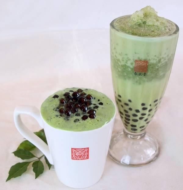 春水堂の春限定「モリンガタピオカミルクティー」抹茶のような風味のスーパーフードを使用 (53680)