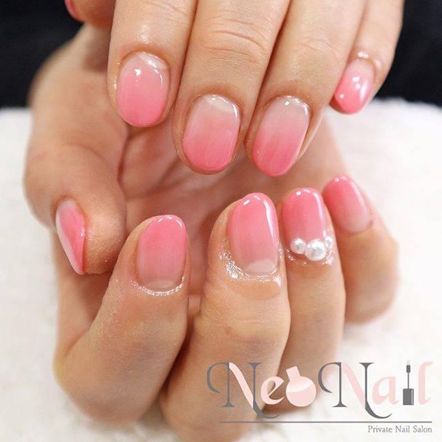 "❁NeoNail kana❁ on Instagram: ""🌸 #springnails #春ネイル 🌸 春の新色ピンクです。 ご来店の時他の新色チェック✔︎して下さい♩♩ #nail #nails #nailist #neonail #ネイル #上品ネイル #ジェルネイル #ネオネイル #京都 #kyoto #japan…"" (53390)"