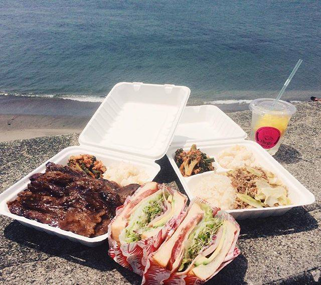 "Pacific DRIVE-IN on Instagram: ""おなかすいちゃう😋#pacificdrivein #パシフィックドライブイン #blrsandwich #kaluapork #lemonade #kalbi"" (53578)"