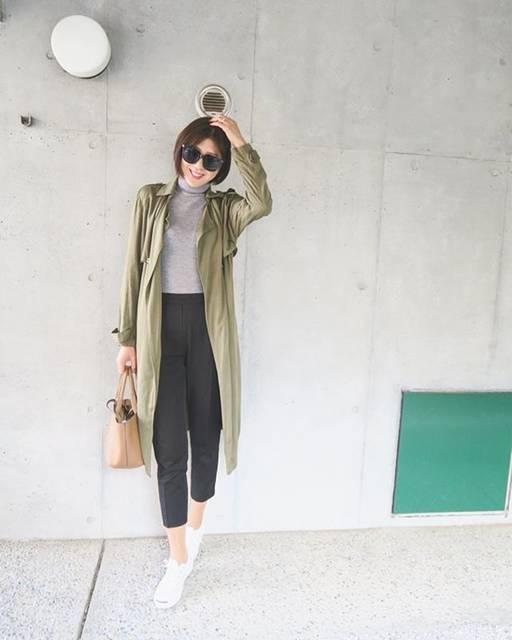 "Atsuko. on Instagram: ""❤︎ どんなコーディネートにもマッチする永遠の定番アイテム、大好きコンバース💛  季節を問わず使えるし便利❤︎*。 最近は通勤にも履いて行ってます( ¨̮ ) ━━━━━━━━━━━━━━━━━━━━━…"" (54279)"