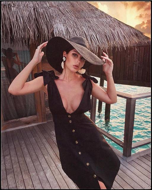 "LPA on Instagram: ""linen dress 701 and @nimabenati"" (54356)"
