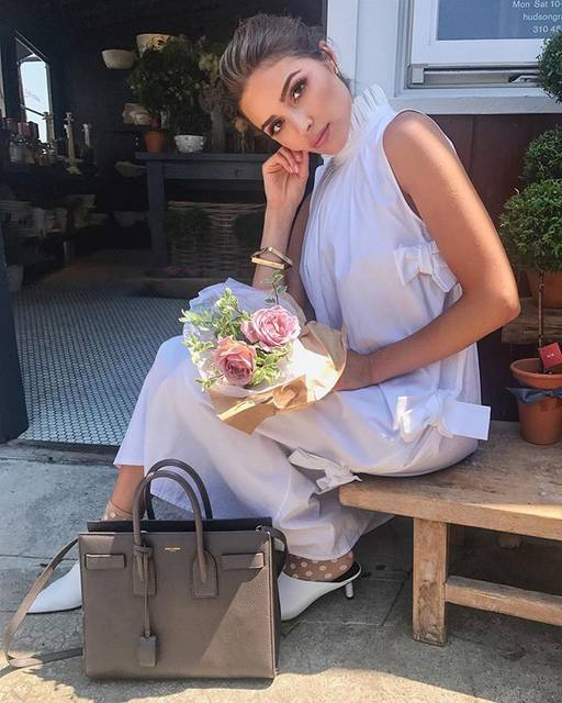 """Olivia Culpo on Instagram: """"First day of spring 🙂🌷"""" (54527)"""