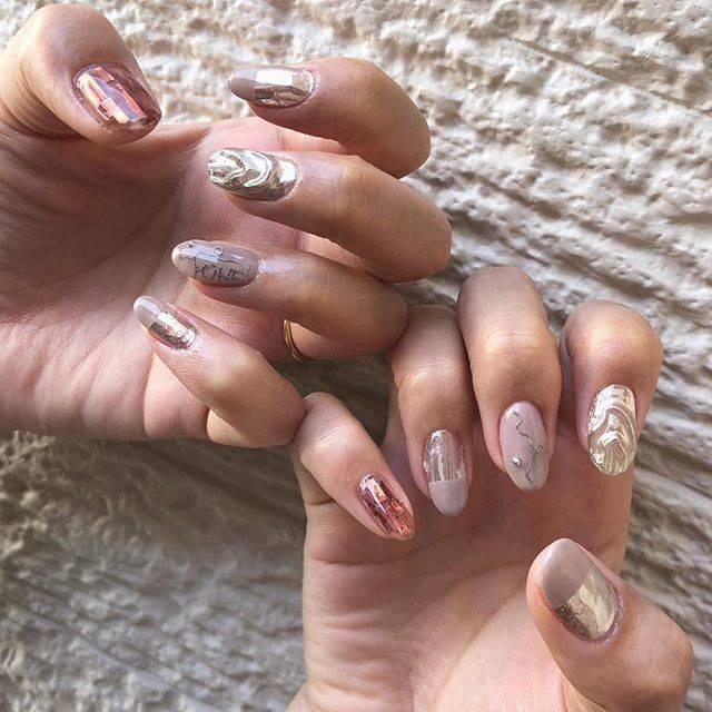 #nail.mayukoさんはInstagramを利用しています:「❤️🤝❤️ 大好きなお友達ネイル💅 美しい。 ・ ゆうありがとう😘 ・…」 (55507)