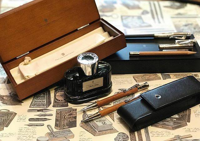 T.Sharp & Co.さんはInstagramを利用しています:「Graf Von Faber Castell • Pernambuco Wood •  Do you know the story behind this pernambuco wood range? Also known as Brazilwood, it is highly…」 (55796)