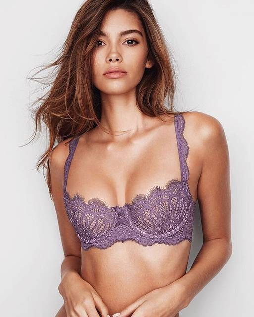 "CINDY MELLO on Instagram: ""@victoriassecret 💜"" (58316)"