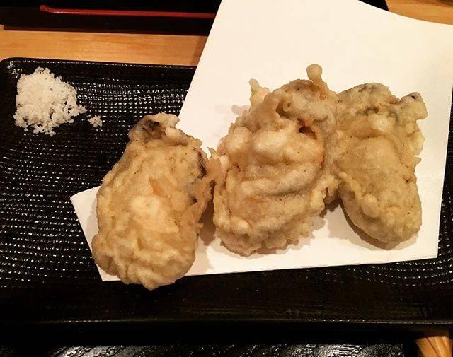 """ねがた もとゆき on Instagram: """"原宿 手打ち蕎麦 松永の牡蠣天です。久々もあり、美味かったっす。ちなみに牡蠣天は今月末までですよ。#牡蠣#蕎麦"""" (58396)"""
