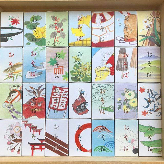 "Ayano on Instagram: ""#室町砂場 #室町砂場マッチ #soba #matchbox #collectibles"" (58403)"
