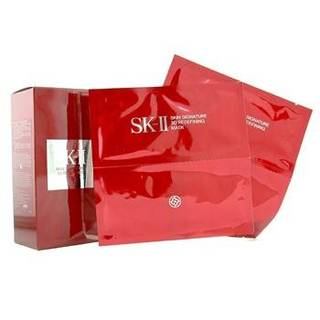 Amazon.co.jp:SK-IIスキン シグネチャー3Dリディファイニングマスク 6袋入り:ビューティー (11003)