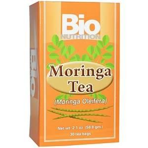 Bio Nutrition, モリンガティー、ティーバッグ30袋、2.1オンス(58.8 g) - iHerb.com (53668)